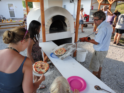 Pizza bakken camping Chvalsiny