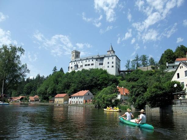 Rafting kasteel Rozmberk