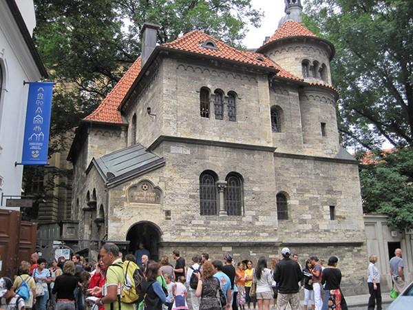 Ingang Joods Museum Praag