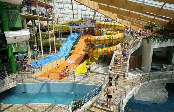 Glijbanen Aquapalace Praag