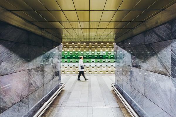 Metro station Praag