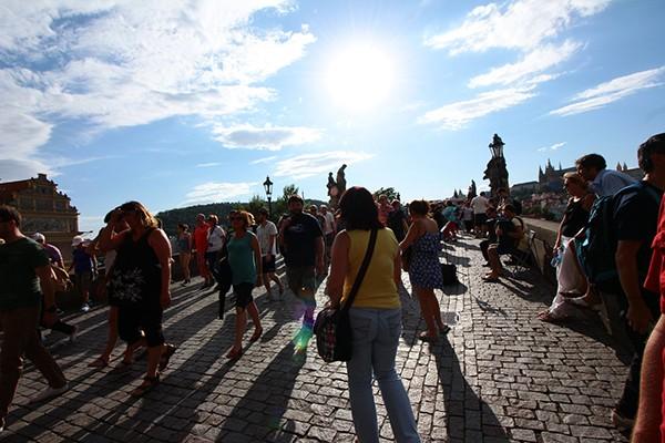 Unesco Karelsbrug Praag