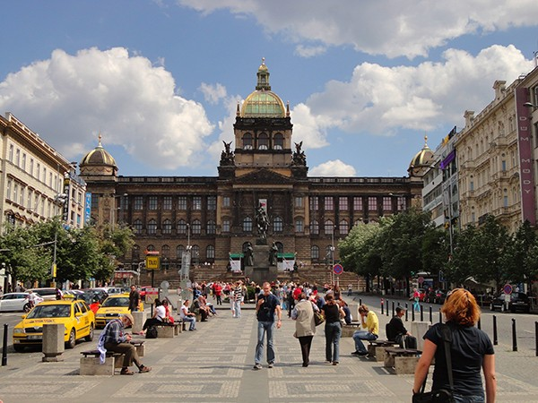Nationaal museum Wenceslasplein Praag
