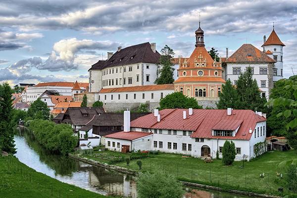 Jindrichuv Hradec Tsjechie