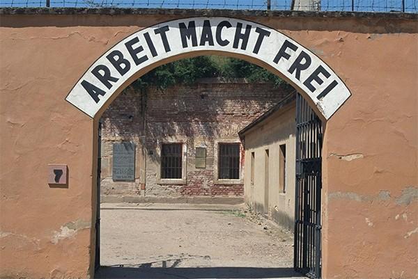 Concentratiekamp Theresienstadt Tsjechie