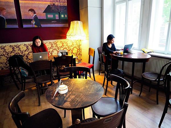 Cafe Le Caveau Praag