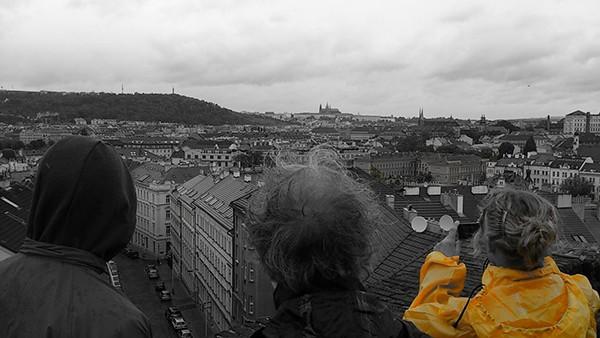 Uitzicht Vysehrad Praag