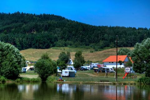 Visvijver camping Chvalsiny