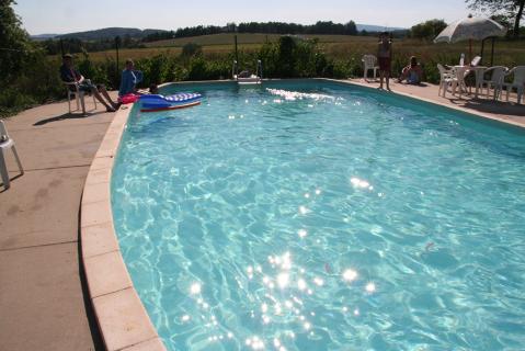 Zwembad camping Horejany