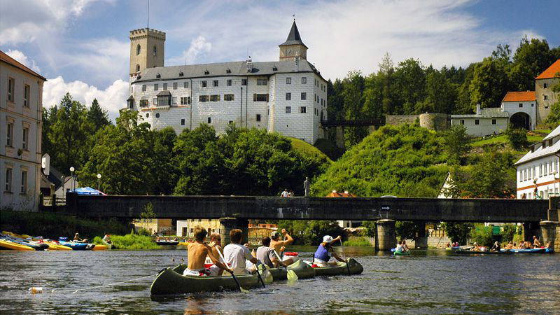 Kasteel Rozmberk nad Vltavou
