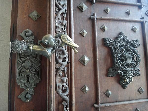 Wapen deurklink Hluboka