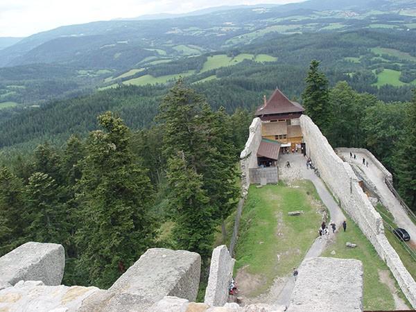 Uitzicht vanaf toren Kasperk