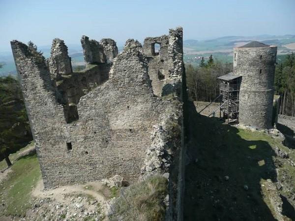 Toren Ruine Helfenburk