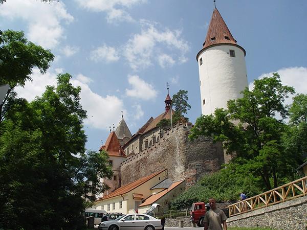 Kastelen in Tsjechie Krivoklat
