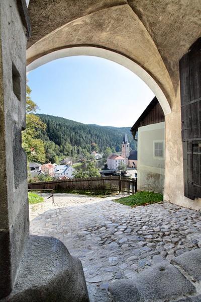 Poort kasteel Rozmberk