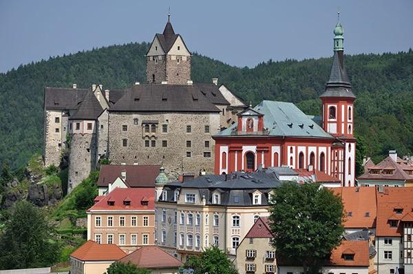 Loket kasteel in Tsjechie