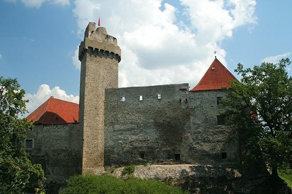 Kasteel in Tsjechie Strakonice
