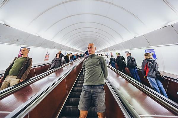 Roltrap Metro Praag