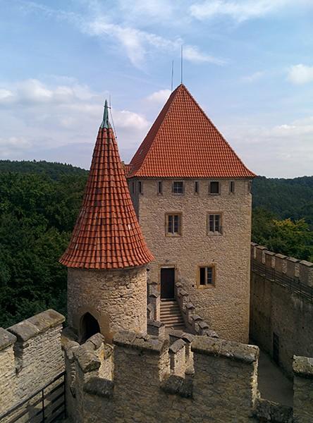 Kokorin kasteel Tsjechie