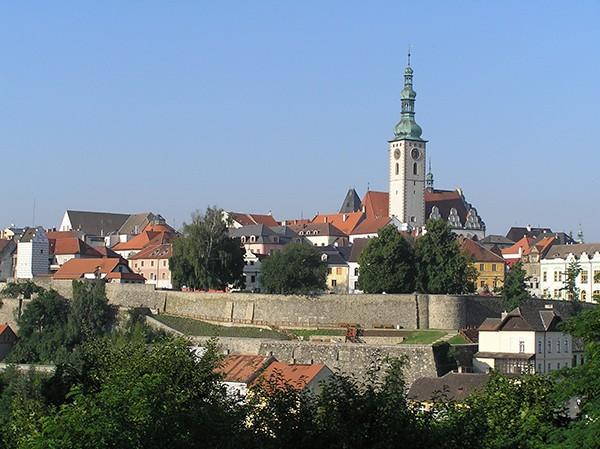 Vestingstad Tabor Tsjechie