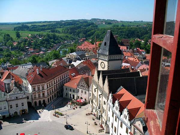 Uitzicht Tabor Tsjechie