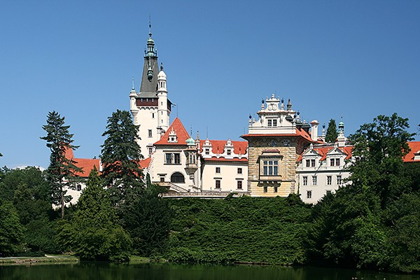 Chateaux Pruhonice Praag