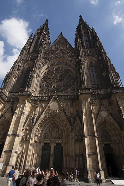 Torens St Vitus Kathedraal