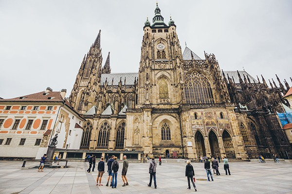 St Vitus kerk Praag
