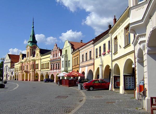 Plein Melnik Tsjechie