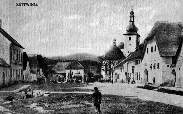Cetviny voor 1950 Tsjechie