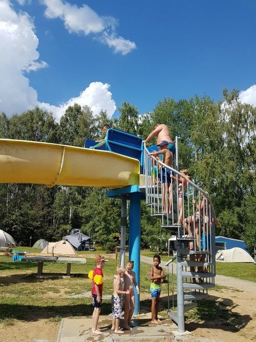 Glijbaan camping Fontana