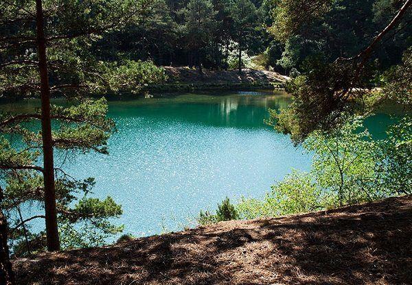 Zwemmen Steengroeve