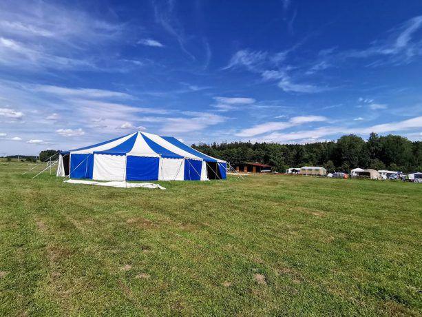 Circustent camping Fontana