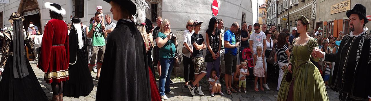 Festival Cesky Krumlov Tsjechie