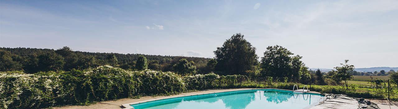 Camping Horejany Zwembad Tsjechie