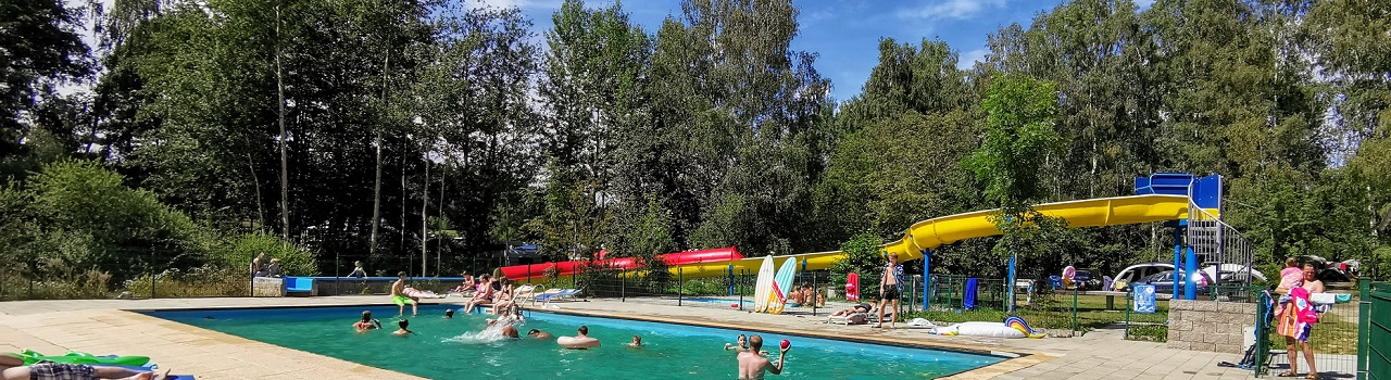Zwembad camping Fontana Tsjechie